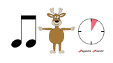 Video lesson to practice and dance movement eight note