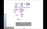 Video on how to solve two step linear Equations