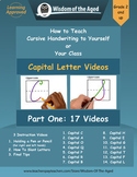 Handwriting Distance Learning - Videos for Capital Letters
