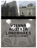 Vienna Austria Landmark Clipart (Personal or Commercial Use)