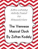 Viennese Musical Clock Listening Activity Packet for Homes