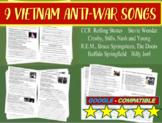 Vietnam Anti-war Song Analysis #1, #2, #3 (Doors, Stones, CSNY, REM & more)