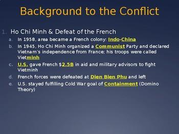 Vietnam Background PowerPoint Lecture