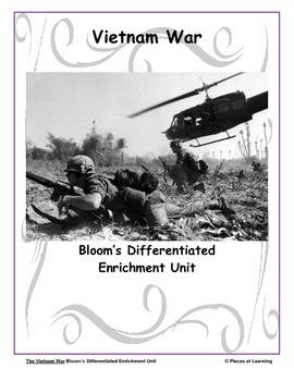Vietnam Conflict - Differentiated Blooms Enrichment Unit