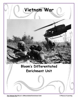 Vietnam Conflict - Differentiated Blooms Enrichment Unit