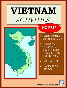VIETNAM  Geography, Myth, How Vietnam Got Its Name