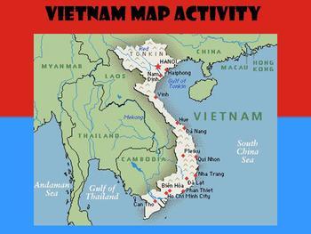 Vietnam Map Activity