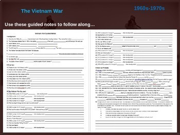 Vietnam Ultimate Bundle - 14 PowerPoints, activities, and primary sources