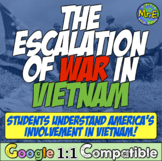 Vietnam War Station Activity: Escalation from Dien Bien Phu to Gulf of Tonkin!