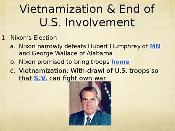 Vietnam Vietnamization PowerPoint Lecture
