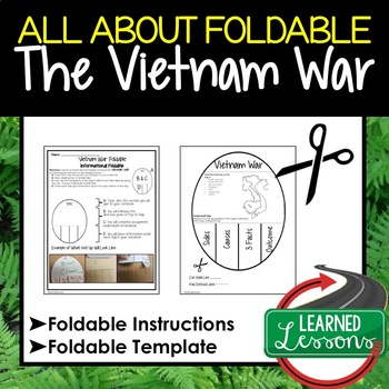 Vietnam War All About Foldable (Interactive Notebook)