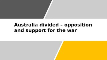 Vietnam War: Australia divided