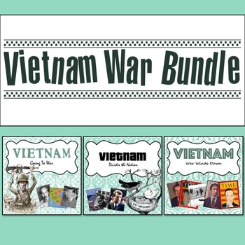 Vietnam War PowerPoint Bundle