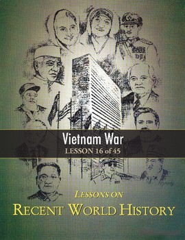 Vietnam War (Causes, Events & Results) RECENT WORLD HISTORY LESSON 16/45 +Quiz