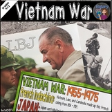 Vietnam War Coloring Page and PowerPoint