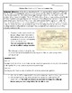Vietnam War Draft Card and 26th Amendment Worksheet with Answer Key