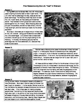 Vietnam War - Five Reasons the U.S. Lost