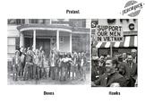 Vietnam War Gallery Walk: Hawks vs Doves