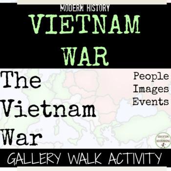Vietnam War Gallery Walk and Analysis Activity