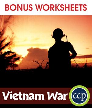Vietnam War Gr. 5-8 - BONUS WORKSHEETS