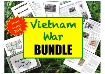 Vietnam War History GROWING BUNDLE