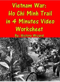 Vietnam War: Ho Chi Minh Trail in 4 Minutes Video Worksheet