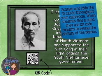 Vietnam War Key People Scavenger Hunt