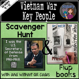 Vietnam War Key People Scavenger Hunt {With and Without QR Codes}