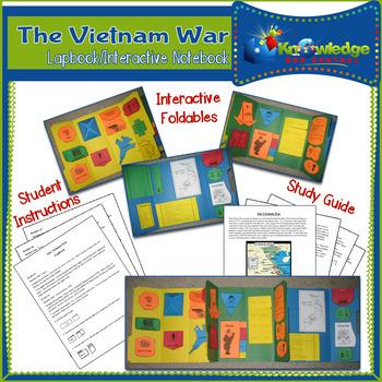 Vietnam War Lapbook