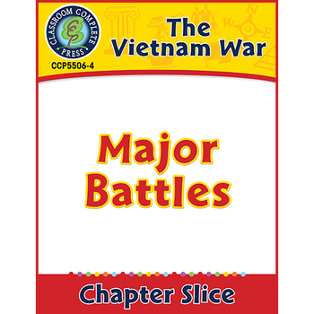 Vietnam War: Major Battles Gr. 5-8