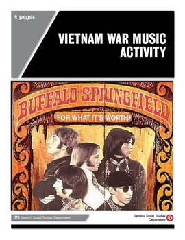 Vietnam War Music Activity