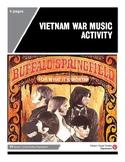 Vietnam War Music Activity