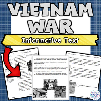 Vietnam War Article and Activity
