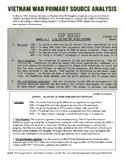 Vietnam War Pentagon Papers Primary Source