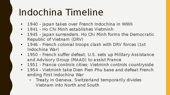 Vietnam War PowerPoint