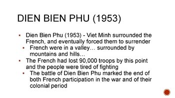 Vietnam War PowerPoint, Guided Notes, and Comlpeted Notes