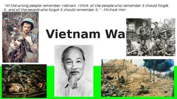 Vietnam War PowerPoint Presentation (Includes Google Slides link!!)
