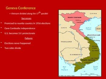 Vietnam War PowerPoint - U.S. History