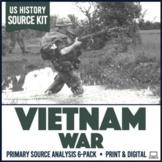 Vietnam War Primary Source Document Analysis Activity 6-Pack