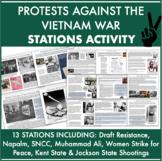 Vietnam War Protest STATIONS: Draft Resistance, Kent State, Muhammad Ali, & more