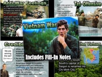 Vietnam War & Protest Unit Bundle