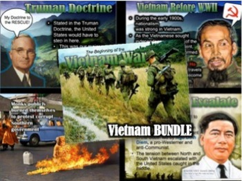 Vietnam War & Protest Unit Bundle