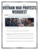 Vietnam War Protests - Webquest with Key