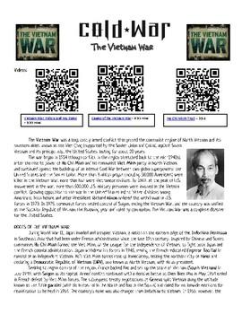 Vietnam War: Reading Analysis