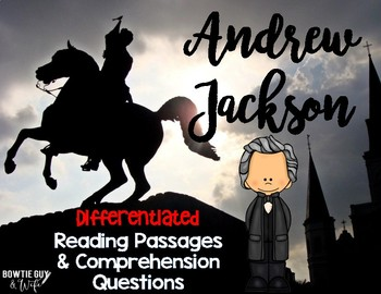 Andrew Jackson Reading Passages Leveled Texts