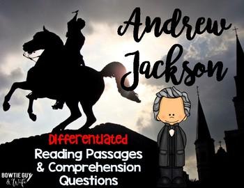 Andrew Jackson Reading Passages Leveled Texts