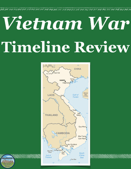 Vietnam War Review Timeline By Stephanie S History Store Tpt