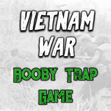 Vietnam War Simulation Game - Viet Cong Booby Traps