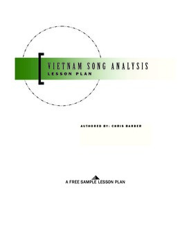 Vietnam War Song Analysis