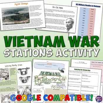 Vietnam War Station Activity